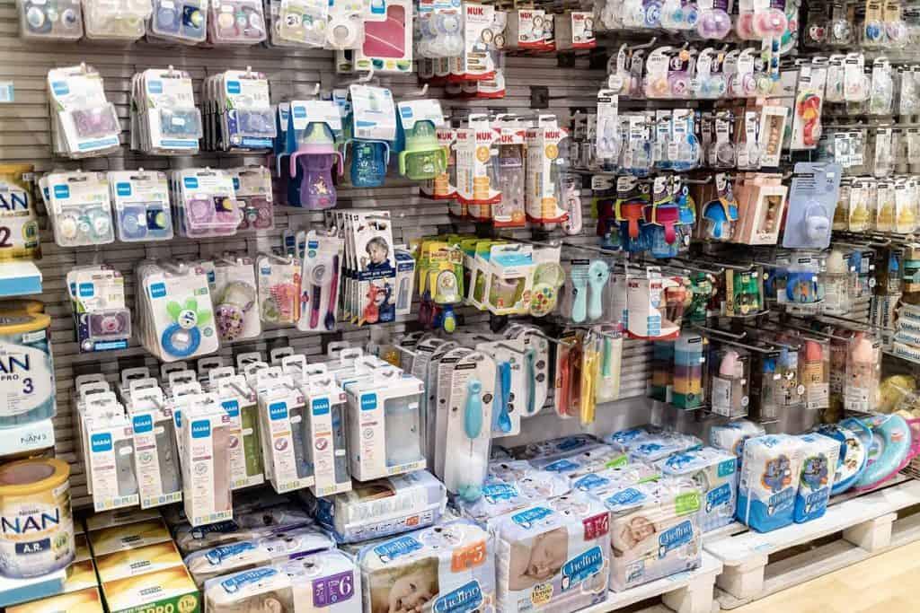 Productos y accesorios para bebés
